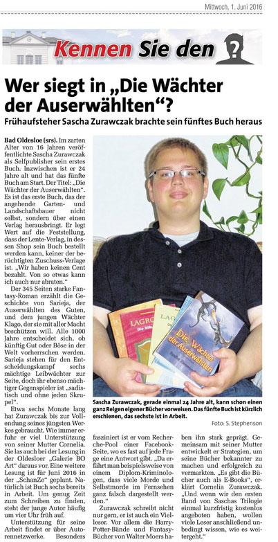 Schon 5 Bücher sind auf dem Markt und weitere sind in Arbeit
