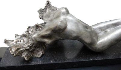 Bronze torso by Elise Coenen