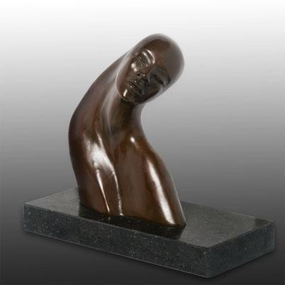 Torso woman in bronze