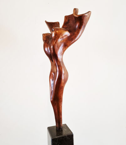 Bronze torso woman