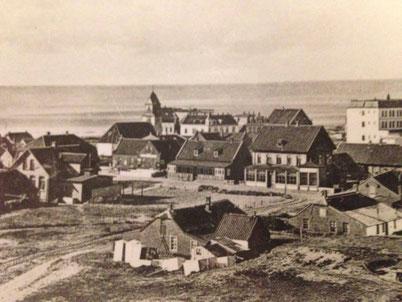 ca. 1953 mit Blick auf den heutigen Januas Platz