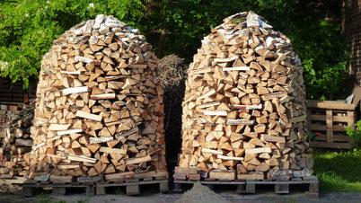 Für Holz ist gesorgt