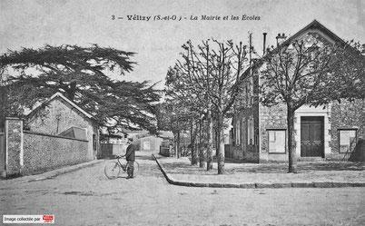 La mairie de Vélizy-Villacoublay avant sa transformation en bureau PTT.