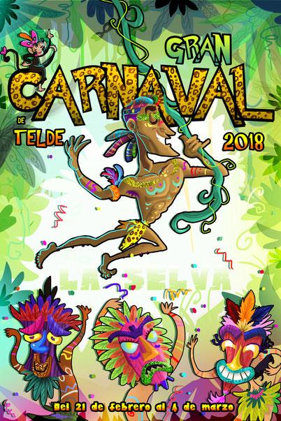 Carnaval de Telde Programa y Cartel