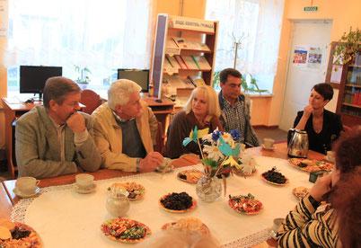 Зустріч в бібліотеці з народним депутатом України В.М. Литвином.