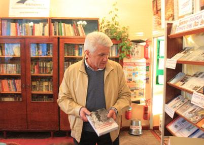 Народний депутат України В.М. Литвин подарував книги з власної бібліотеки