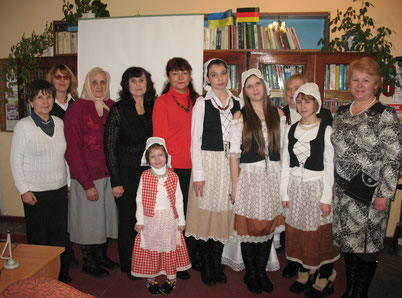 члени земляцтва етнічних німців у євровітальні бібліотеки