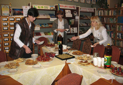 презентація страв німецької кухні у євровітальні