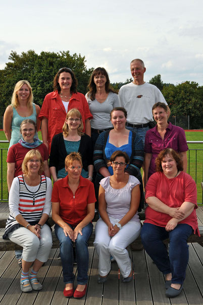 Mediatheks-Team im August 2013