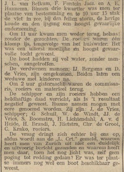 Nieuwsblad van het Noorden 19-01-1912