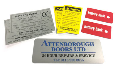Self Adhesive Information Stickers UK