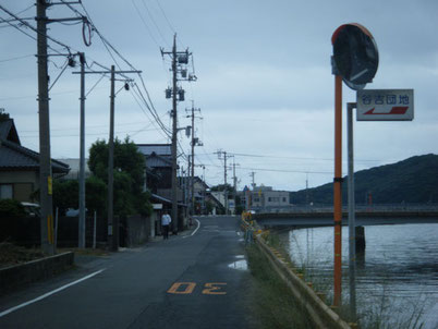 アクセス 谷吉団地入口の写真