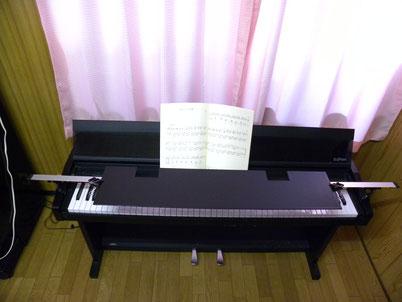 電子ピアノ用ピアノブラインド