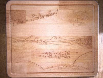 Brotzeitbrett I bin a Südtiroler 22,99€