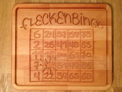 Brotzeitbrett Fleckenbingo 19,99€