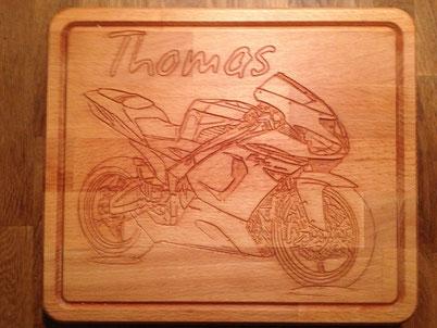 Brotzeitbrett Motorradl 28,99€