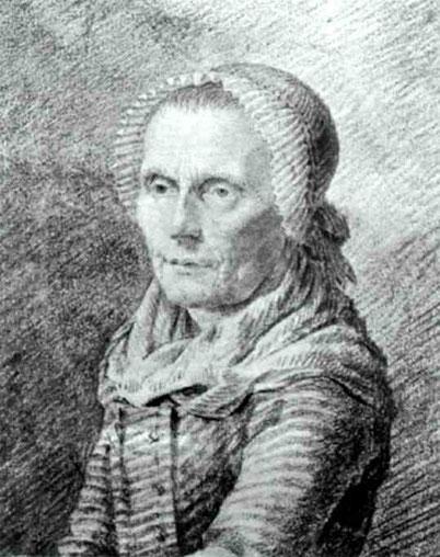 Портрет матери художника. 1798-1802