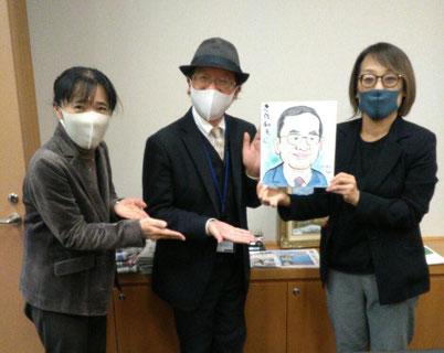 ・日本共産党 志位和夫委員長 秘書様(写真 左) 吉良よし子議員 秘書様(写真 右)