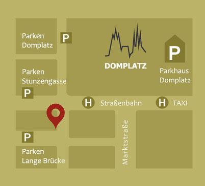 #Parkplätze #Optiker Zacher #Innenstadt Erfurt #Altstadt