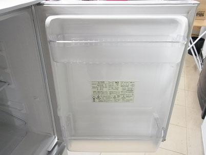 冷蔵庫の扉の内側