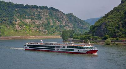 Rhein Melodie auf dem Rhein