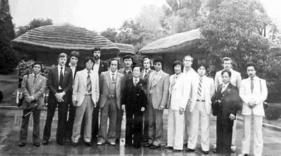始めて北朝鮮を訪れたITF演武団(1981年)