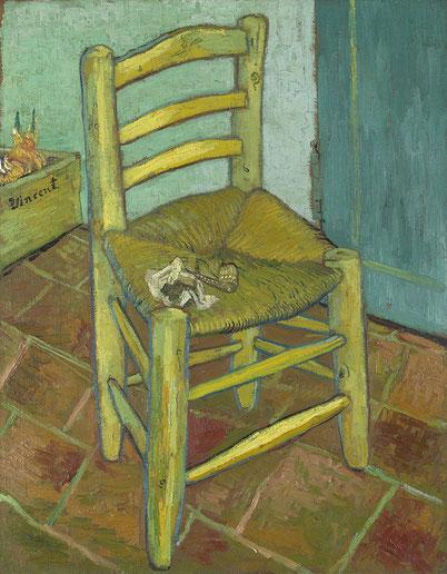 Стул Винсента - самые известные картины Ван Гога