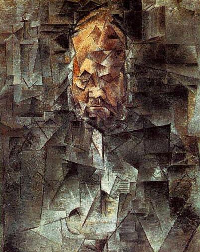 Самые известные картины Пикассо - Портрет Амбруаза Воллара
