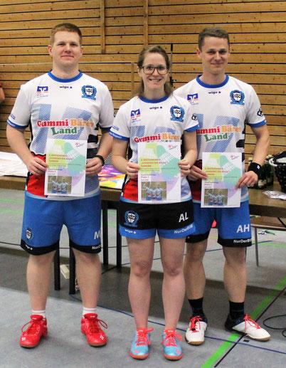 Team BVM: Matze, Aline und Alex (v.l.n.r.)
