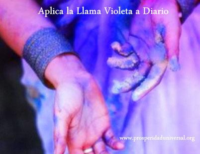 ARCÁNGEL URIEL III - APLICA LA LLAMA VIOLETA A DIARIO - PROSPERIDAD UNIVERSAL - www.prosperidaduniversal.org