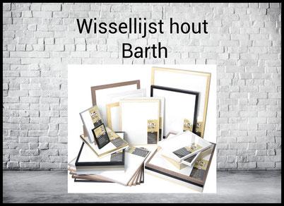 Wissellijst Barth hout