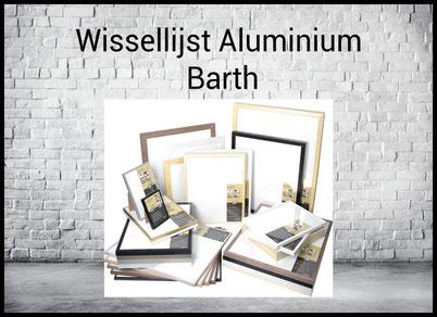 Wissellijst aluminium barth
