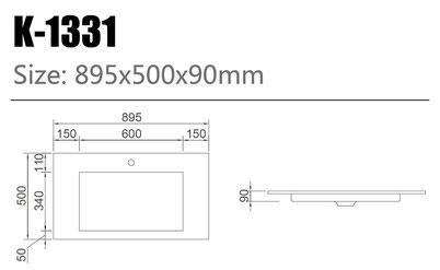 Waschtisch K-1331