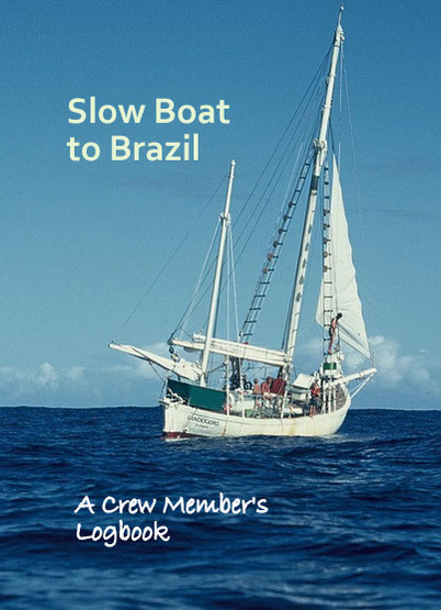 SLOW BOAT TO BRAZIL (A PROPOSED FRONT COVER) © DA-B