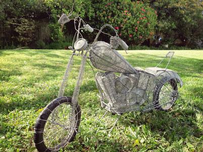 Upcycling Dekoration Motorrad kaufen, Geschenkidee