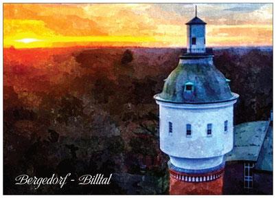 218 Luftbild Billtal Wasserturm