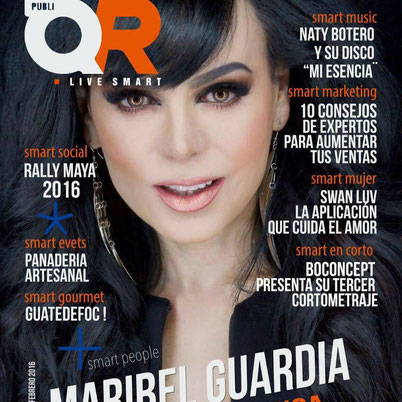 publi qr, portada Maribel Guardia
