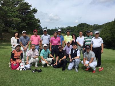 2016年6月12日 ティップネス校・校あたご校 オープンコンペ in 西武園ゴルフ場