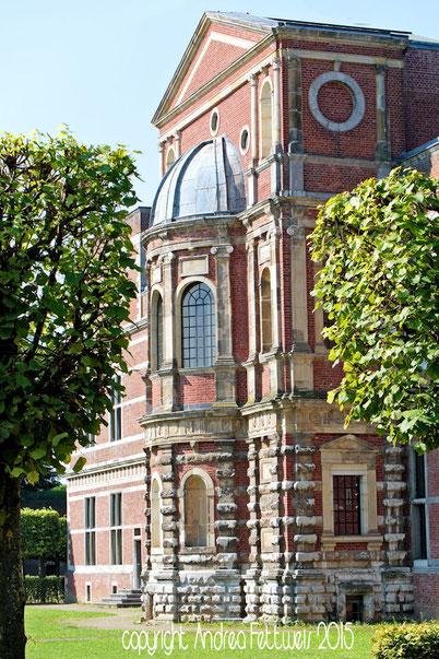 Jülicher Zitadelle mit Blick auf die Kapelle, Foto Andrea Fettweis
