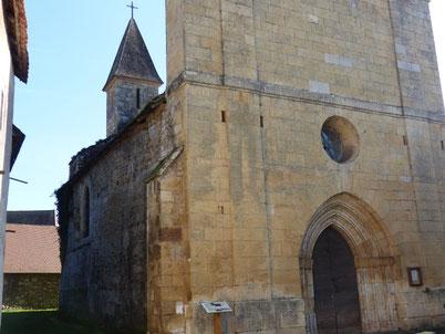 L'église Saint Cyr et Sainte Julitte, XII°s