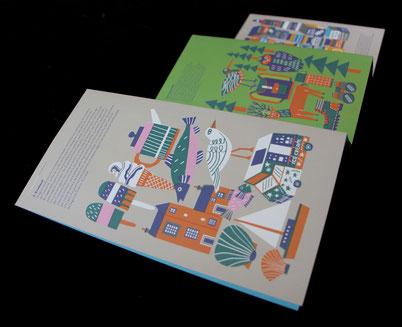 "Kinderbuch von Marcus Oakley – Autor und Illustrator, ""A minha Cidade"", Pato Lógico (2016)"