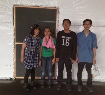 武蔵のキクラゲ:栽培担当者