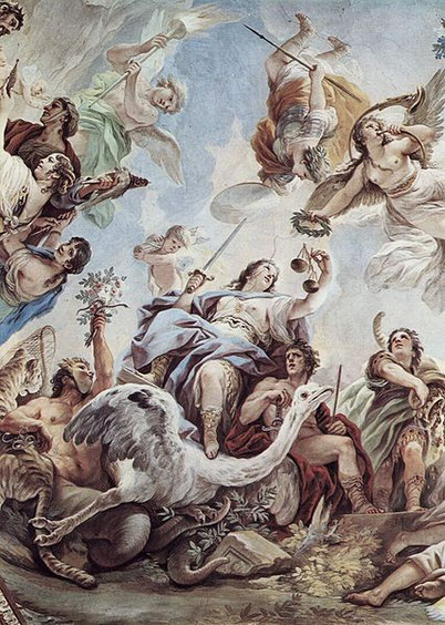 Allegoria della Giustizia Luca Giordano