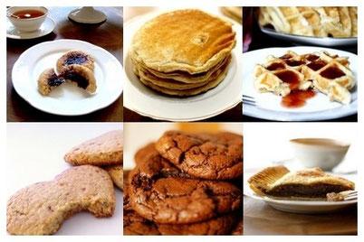 Recettes sucrées, facile et parfois sans gluten