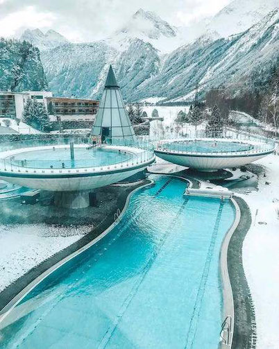 Unique hotel in Austria Aqua Dome