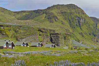 a great base to explore Iceland off the beaten path: Vik Cottages