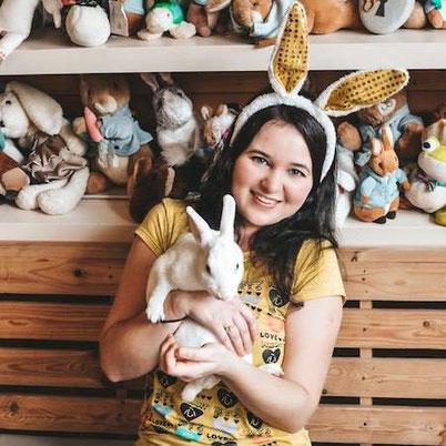 Кроличье кафе в Бангкоке