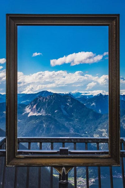 Austria bucket list: 5 fingers viewpoint