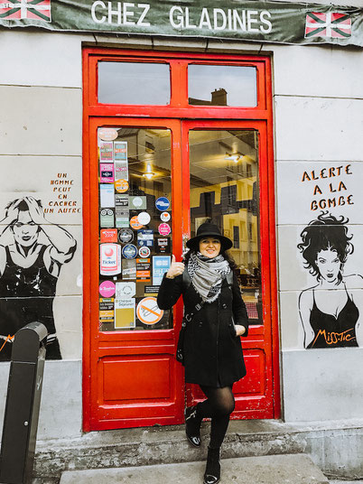 колоритный ресторан в районе Парижа Бит-о-кай