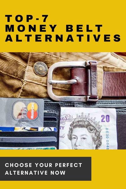 Money belt alternatives for a smart traveler